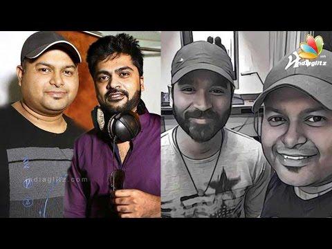 Dhanush-Simbu-join-hands-for-Thaman-Thikka-Latest-Tamil-Cinema-News