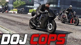 Dept. of Justice Cops #362 - Biker Mob Ride Out (Criminal)