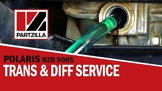 7. Polaris RZR Transmission and Gearcase Fluid Change   RZR 900S    Partzilla.com