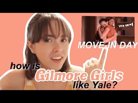YALE in GILMORE GIRLS vs in REAL LIFE // SO different