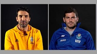 Video Juventus' Buffon and Porto's Casillas: Two Champions League legends in their own words MP3, 3GP, MP4, WEBM, AVI, FLV Desember 2018