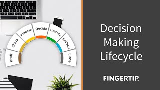 This is a product focused explanation of FIngertip Decision Life Cycle.