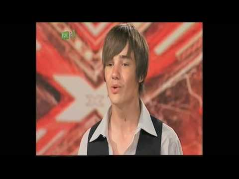 liam - Liam's 1st televised audition & interview. Listen to Liam's 1st exchange with Simon Cowell,
