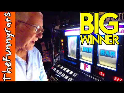 OLD MAN WINS BIG ON CASINO SLOT MACHINES – Things To Do in Louisiana [Baldwin, LA]