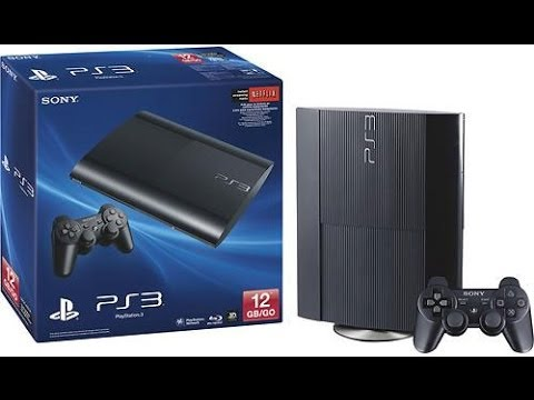 Unboxing PS3 Super Slim De 12Gb Pt-Br