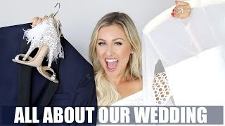 I'm answering all your questions about our wedding in this chatty wedding detail video!! I go into all the details...everything from the dresses to the makeup to the hair to the clutch to the groom and EVERYTHING in between. Hope you LOVE this video! Please give it a thumbs up and subscribe!!!!Product Links:Flower Girl Dress: https://www.agatamariacouture.comGarter: https://www.agatamariacouture.comDress Number One: Vera Wang from B Hughes BridalDress Number Two: Vera Wang at B Hughes BridalKyle's Suit: http://rstyle.me/n/cp8i27byr9pRehearsal Dinner Tops:Rehearsal Dinner Bottoms: http://rstyle.me/n/cp8i22byr9pShoe Number One: http://rstyle.me/n/cp8i2tbyr9pShoe Number Two: http://rstyle.me/n/cp8izdbyr9pClutch: http://www.mabyl.comEarrings: http://www.erincole.comHair: Parlour 3 in Nashville or http://halocouture.comPrimer: http://rstyle.me/n/cp8iyjbyr9pFoundations: http://rstyle.me/n/cp8ixzbyr9p and http://rstyle.me/n/cp8iyebyr9pPalette: http://rstyle.me/~a15ApLipGloss(Sahara Pink): http://rstyle.me/n/cp8ixebyr9pWhite Dress In Video: http://rstyle.me/n/cp8iw5byr9pMy Links:Blog: http://malloryervin.comInstagram: @malloryervinSnapchat: malloryervinTwitter: @malloryervinFacebook: @TheOfficialMalloryErvin and @malloryervinPinterest: malloryervin