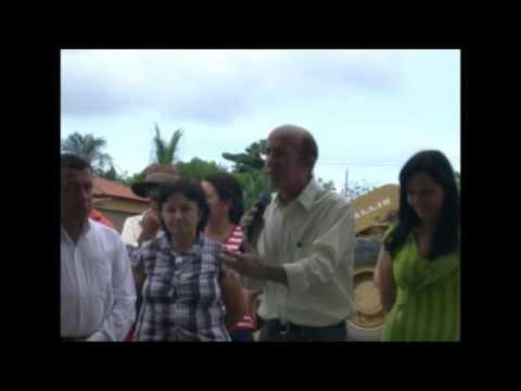 20/11/09 - Lançamento de Creche em Guaraíta, no Nordeste de Goiás