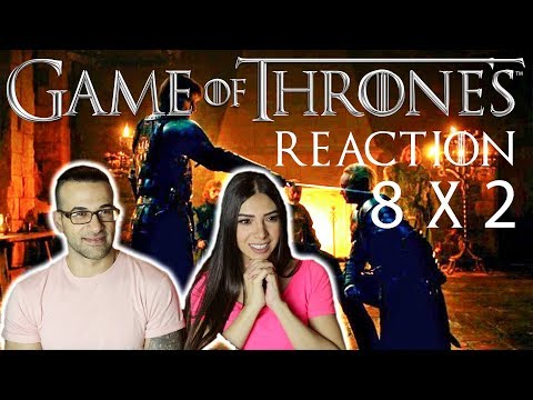 GAME OF THRONES Season 8 Episode 2 A Knight Of The Seven Kingdoms PART 1 REACTION & REVIEW