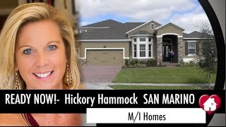 Hickory Hammock is one of the most desired communities in the Winter Garden/ Horizon West area! Homes here are going FAST ...