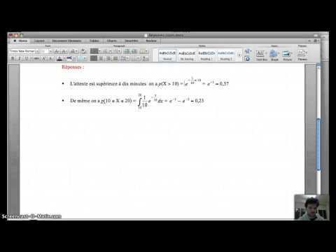 Comment trouver p dans la loi binomiale la r ponse est - Comment lire la table de la loi normale ...