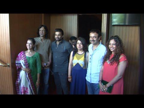 R Madhvan & Kay Kay Menon At Raju Hirani Sister's Play
