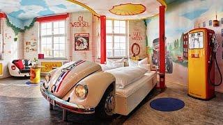 Boblingen Germany  City pictures : Unusual hotels of the world: V8 Hotel Motorworld Region Stuttgart, Böblingen, Germany, 4*