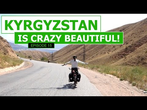 Kyrgyzstan Is Crazy Beautiful! - EP #15 | Cycling The Silk Road