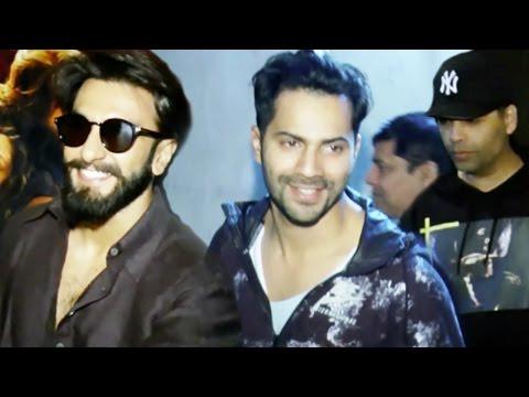 Ranveer Singh, Varun Dhawan And Others Watch Mirzy