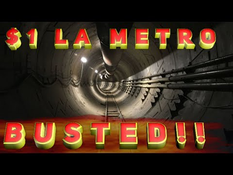 Elon Musk promises $1 rides in LA transit tunnels: BUSTED!