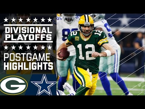 Packers vs. Cowboys | NFL Divisional Game Highlights (видео)