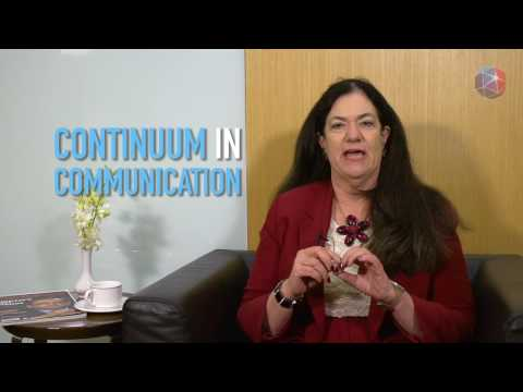Leadership Nuggets - Continuum in communication  (Rebecca Morgan)