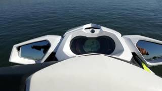 2. SEADOO GTI 130 TOP SPEED & SPORT MODE