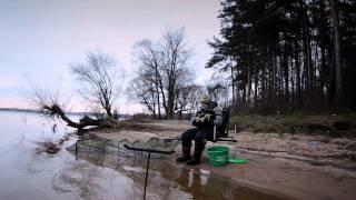 Ловля леща поздней осенью  на Истринском водохранилище.