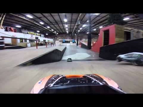 R/C Car Fun At The Kitchen BMX & Skatepark! HD