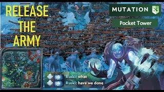Video MEGA CREEPS ARMY - Mutation Pocket tower bug by Arc Warden   Dota 2 MP3, 3GP, MP4, WEBM, AVI, FLV Juni 2018
