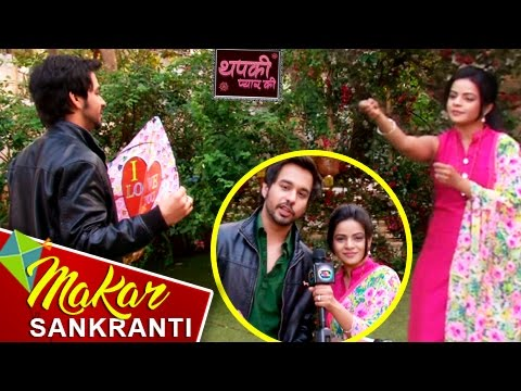 Thapki & Bihaan's KITE FLYING Challenge On Makar S