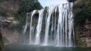 The HuangGuoShu 黄果树 Waterfalls