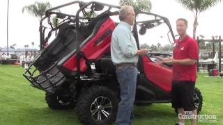 7. Multipurpose Honda Pioneer 1000 Features Technology Advancements