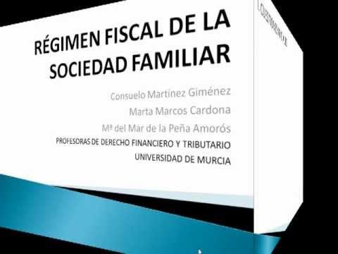 Régimen fiscal de la sociedad familiar