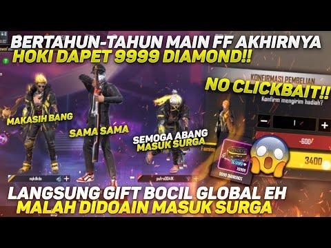 BERTAHUN-TAHUN MAIN EPEP AKHIRNYA HOKI DAPET 9999 DIAMOND!! LANGSUNG BAGI BAGI GIFT KE GLOBAL
