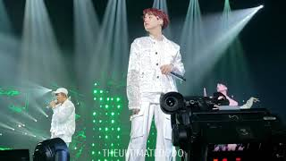 180909 Outro: Tear @ BTS 방탄소년단 Love Yourself Tour in LA Fancam 직캠