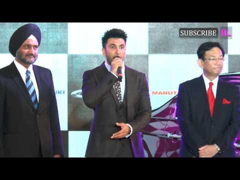 Ranveer Singh launches Maruti Suzuki Ciaz