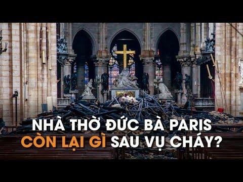 Thiệt hại khó tưởng tượng của Nhà thờ Đức Bà Paris sau vụ cháy lớn - Thời lượng: 1:44.