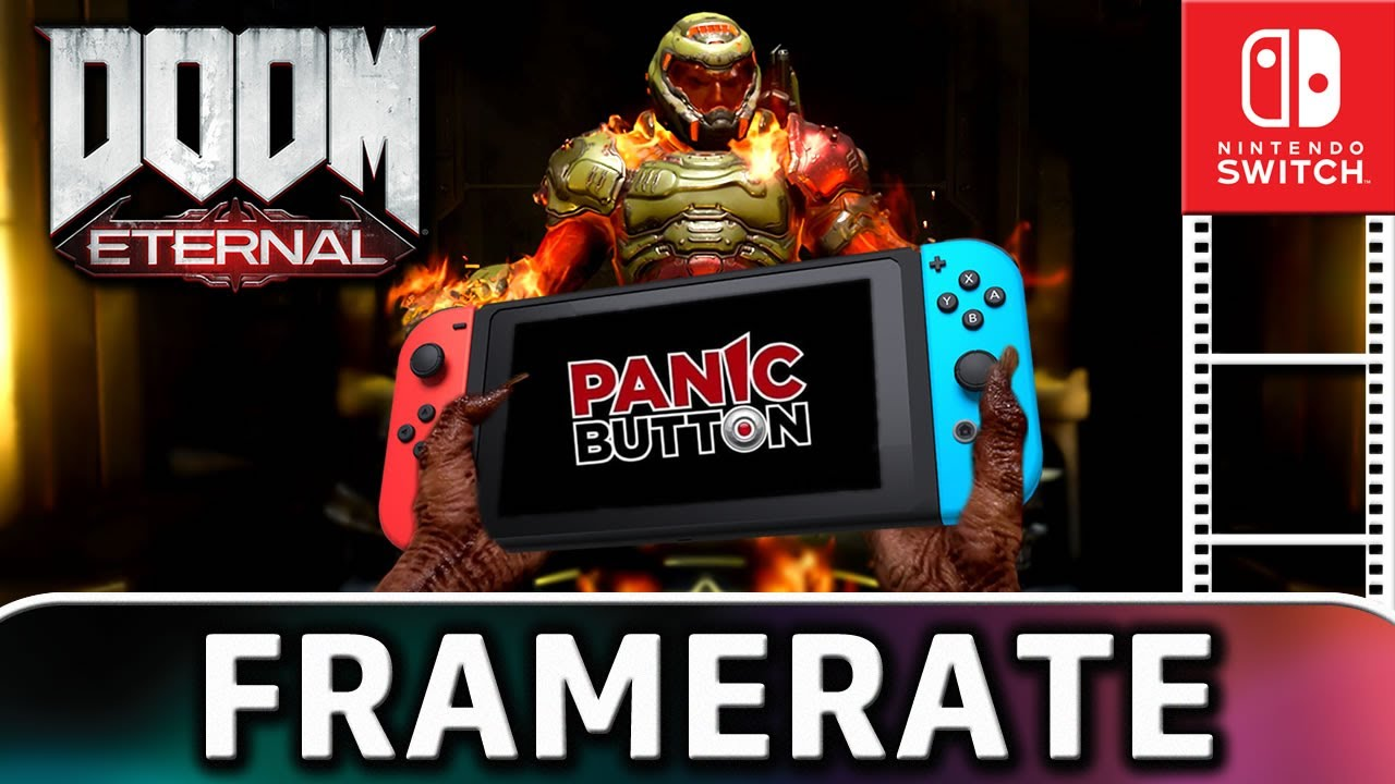 Doom Eternal   Nintendo Switch Gameplay and Frame Rate