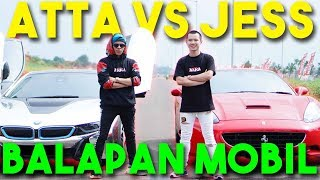 Video BALAP MOBIL ATTA VS JESS No Limit! i8 VS Ferrari 🔥 NGERI!! MP3, 3GP, MP4, WEBM, AVI, FLV April 2019