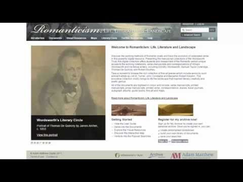 Product Overview: Romanticism: Life, Literature and Landscape