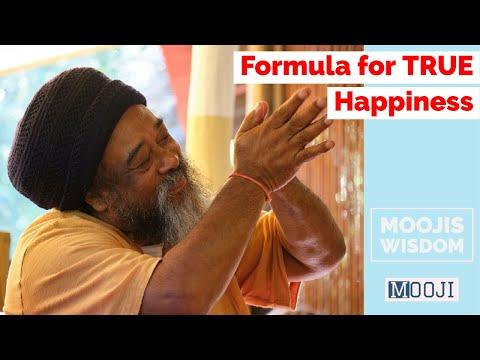 Mooji Video: Formula for True HAPPINESS