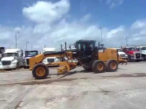 CATERPILLAR MOTOR GRADERS 140M2 equipment video HCMshC8NJ4w