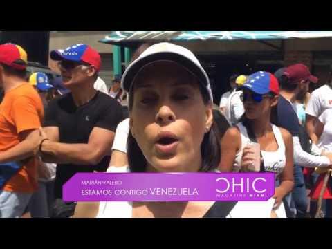 Especial: Estamos Contigo Venezuela – Chic Magazine Miami 25-04-2017 Seg. 01