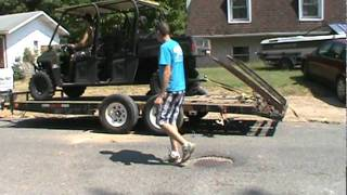 6. How to load the Ranger on the trailer
