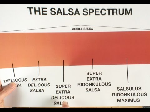 The Salsa Spectrum - You Suck at Cooking (episode 38)