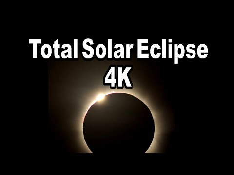 4K Video Footage Of A Total Solar Eclipse
