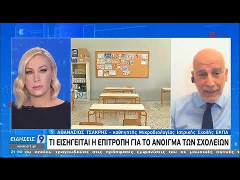 Αθ. Τσακρής: Στην πιο κρίσιμη καμπή η πανδημία   17/11/2020   ΕΡΤ