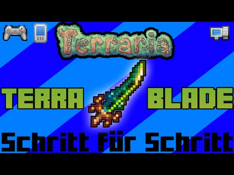 TERRA BLADE Tutorial (Schritt für Schritt) | PC/Mobile/Console | Terraria [Deutsch]