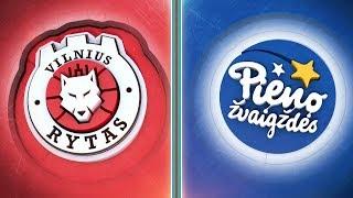 """Video """"Betsafe–LKL"""" rungtynių apžvalga: """"Rytas"""" - """"Pieno žvaigždės"""" [2019-09-21] MP3, 3GP, MP4, WEBM, AVI, FLV September 2019"""