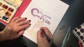 Aurélie Neyret au Salon du livre de Montreuil - Autres - CARNETS DE CERISE (LES)