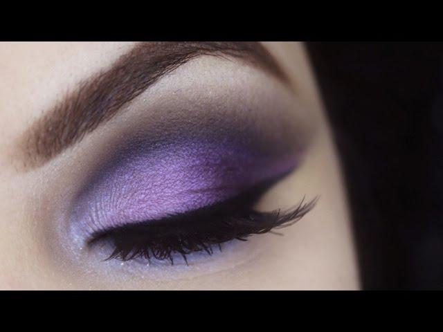 Maquiagem Côncavo Aberto Degradê Violeta - Makeup Tutorial Vice Palette - Pausa para Feminices