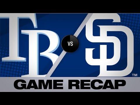 Video: Urias, Hosmer power Padres past Rays, 7-2   Rays-Padres Game Highlights 8/14/19