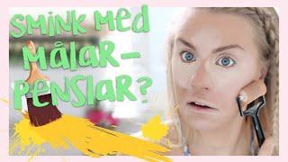 Therese Testar: MÅLARPENSLAR TILL SMINK