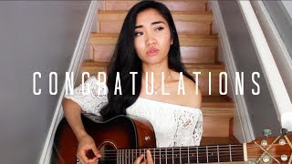 Video Congratulations x Post Malone ft. Quavo (Cover) MP3, 3GP, MP4, WEBM, AVI, FLV Maret 2018